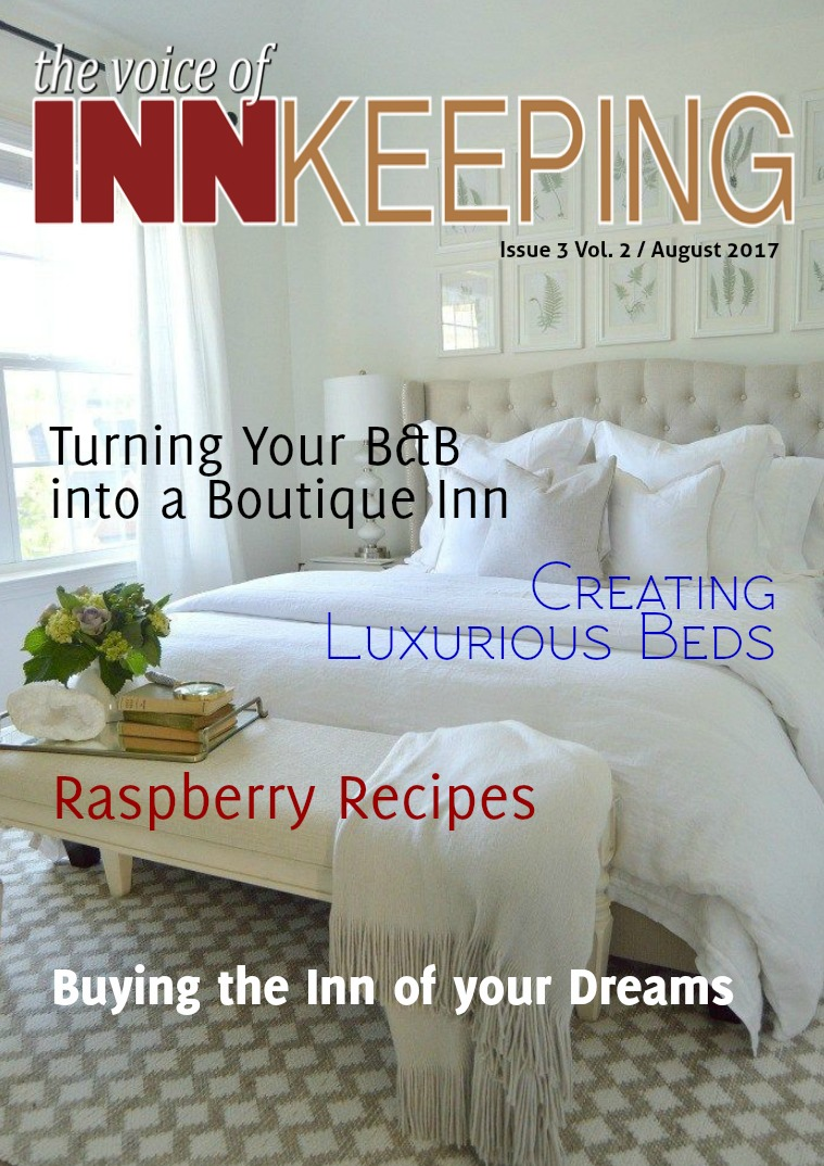The Voice of Innkeeping Vol 2 Issue 3 August 2017