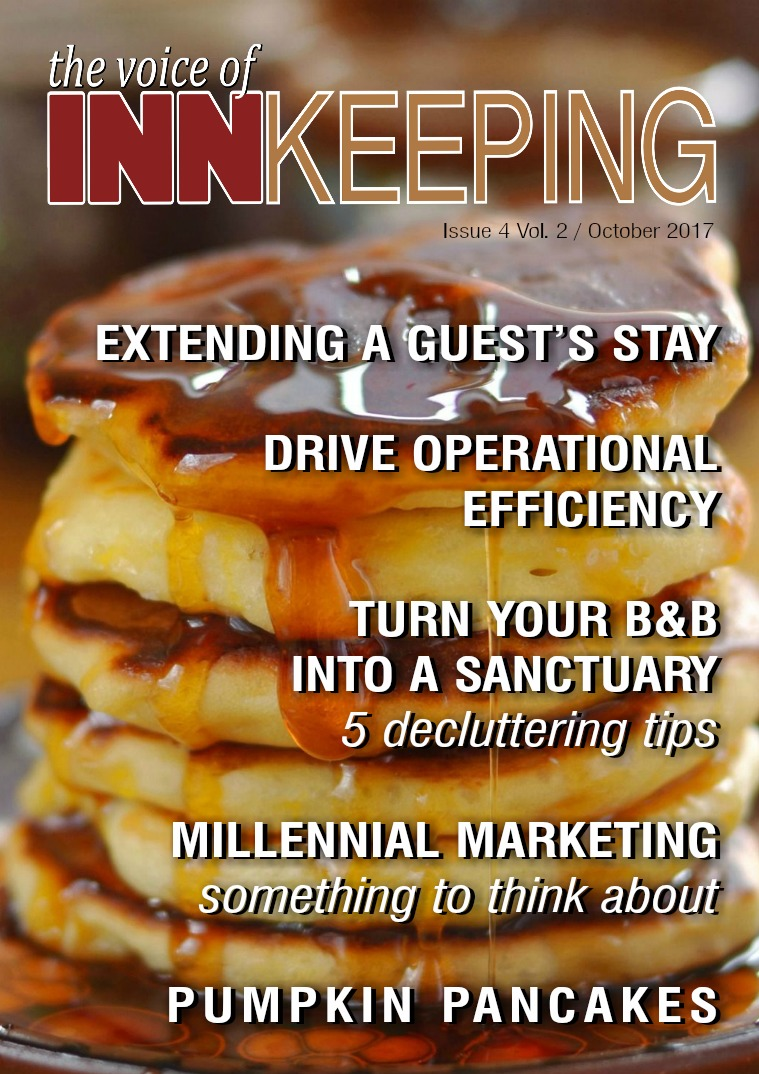 The Voice of Innkeeping Vol 2 Issue 4 October 2017