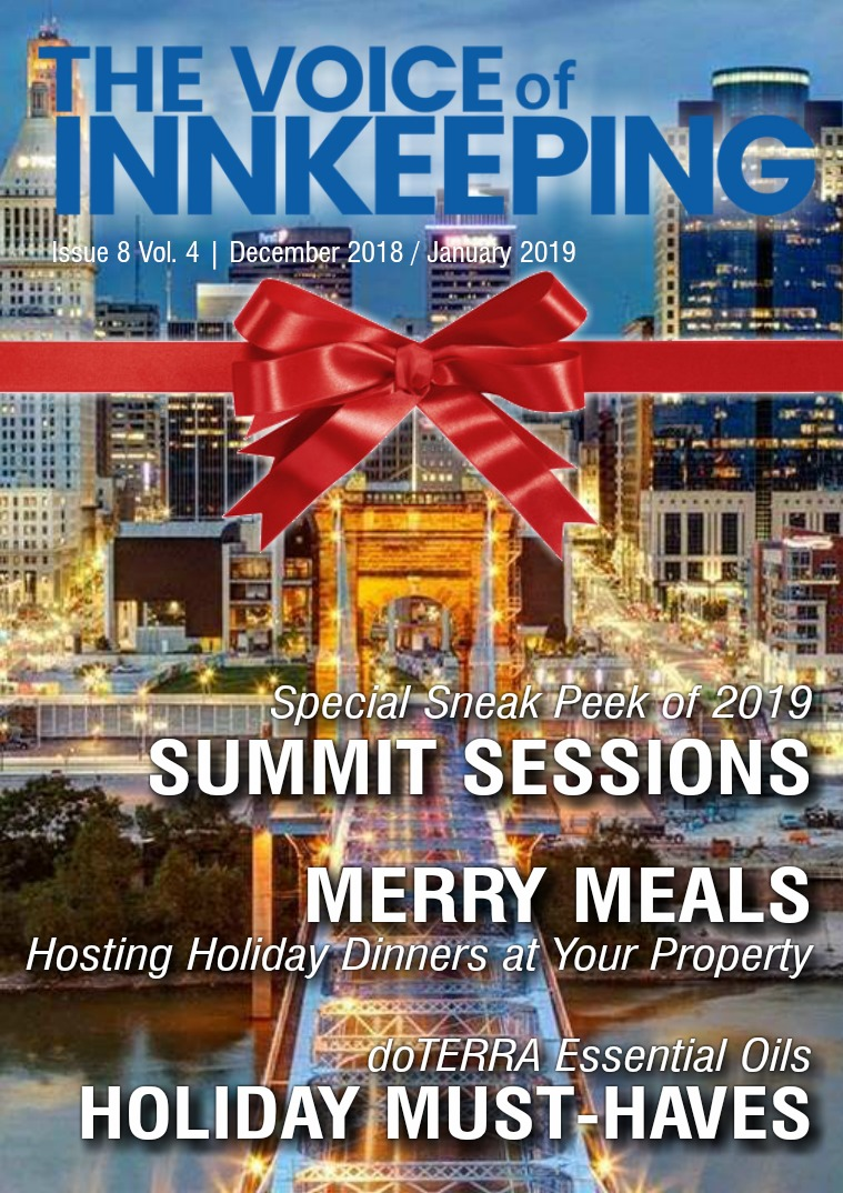 The Voice of Innkeeping Vol 3 Issue 10 December/January