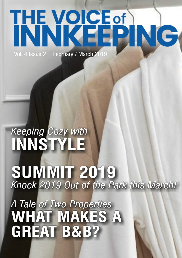 The Voice of Innkeeping Vol 4 Issue 2 February/March
