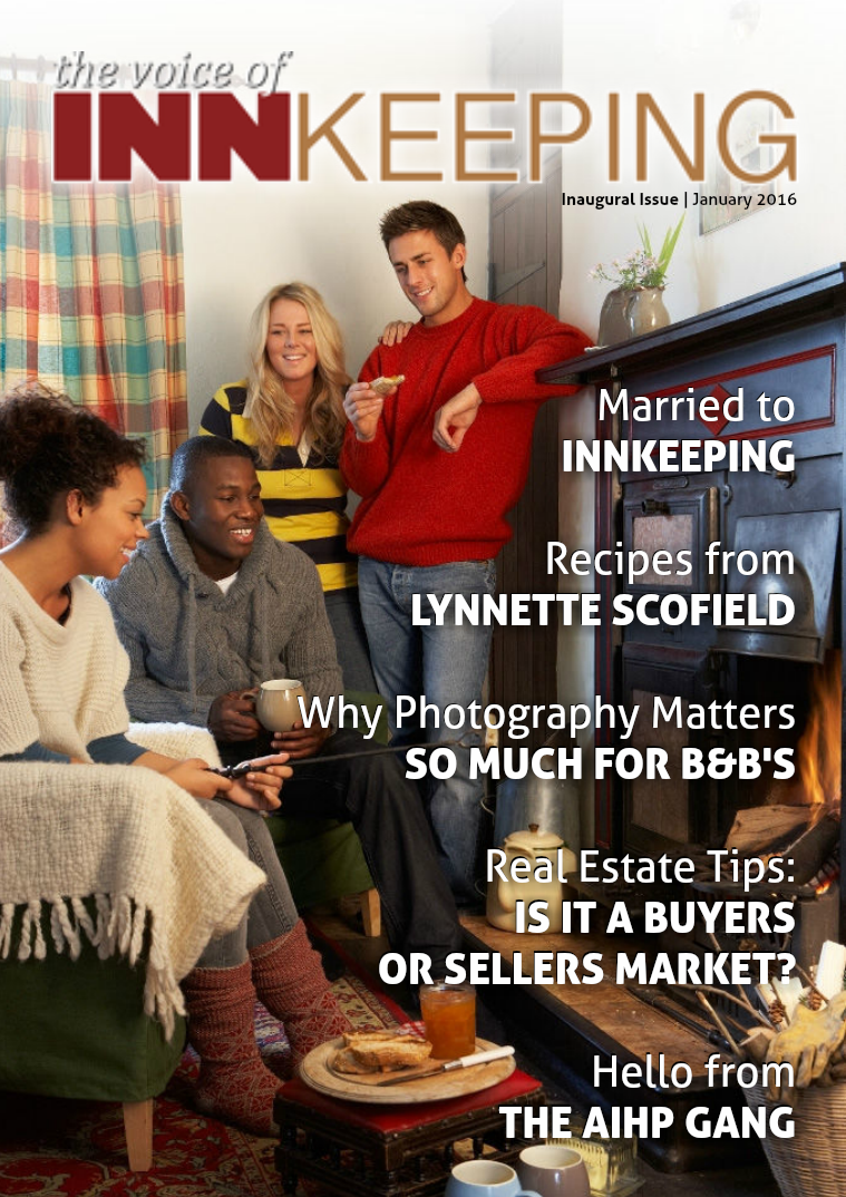 The Voice of Innkeeping Issue 1 Vol. 1 January 2016
