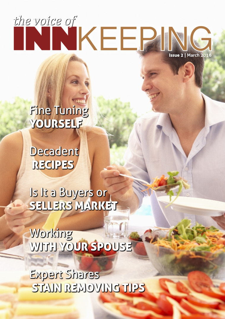 The Voice of Innkeeping Issue 2 Vol. 1 March 2016