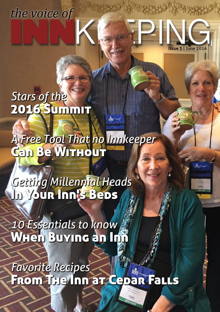 The Voice of Innkeeping Issue 3 Vol. 1 June 2016
