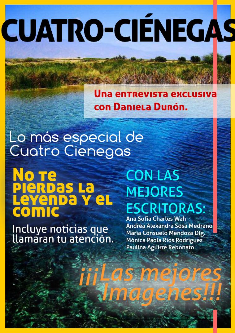 Cuatro Ciénagas Proyecto de Español