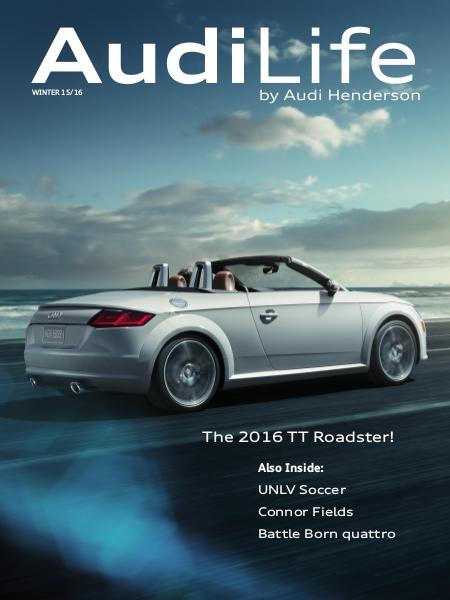AudiLife by Audi Henderson Winter 15/16
