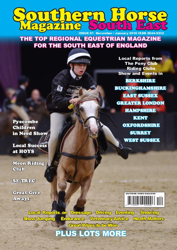 Southern Horse Magazine South East December / January 2017