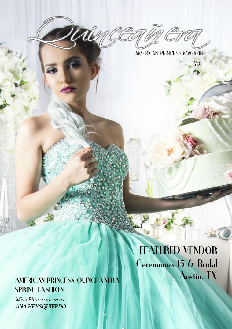Quinceañera American Princess Mag Vol. 1 Quinceañera American Princess Mag Vol. 1