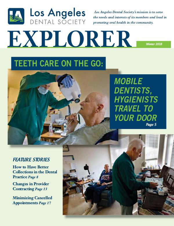 The Explorer Winter 2018 Explorer Winter 2018