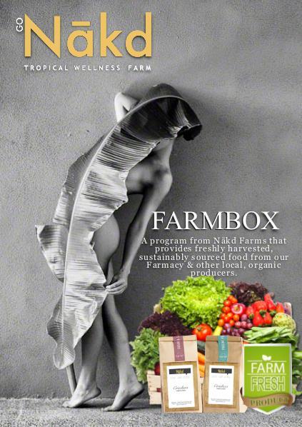 Nakd Farm Box Nakd Farm Brochure