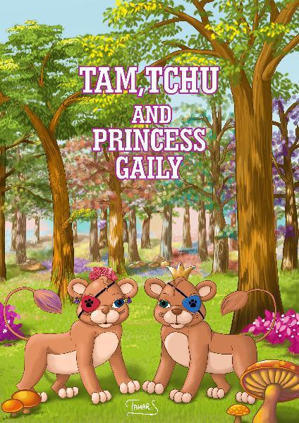 Tam,Tchu  and  princess Gaily tam&tchu