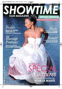 SHOWTIME HAIR MAGAZINE spécial MARIAGE