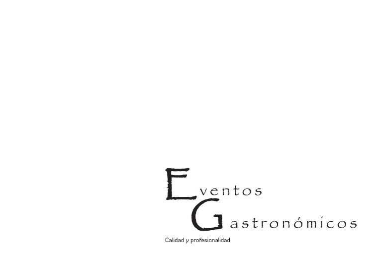 EVENTOS GASTRONOMICOS EG Diciembre 2015