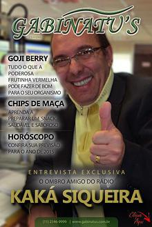 Revista Gabinatu's - Kaká Siqueira