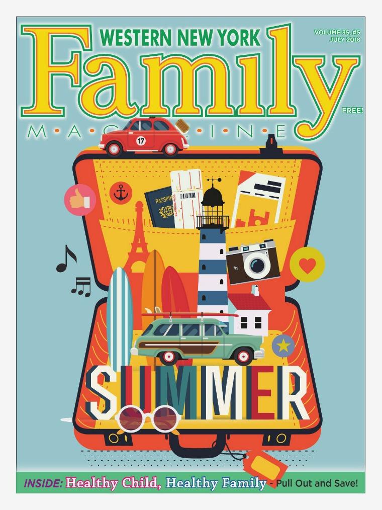 WNY Family Magazine July 2018