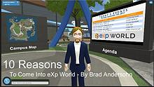 10 Reasons To Come Into eXpWorld