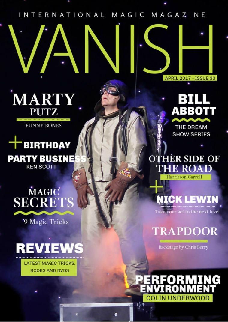 VANISH MAGIC BACK ISSUES VANISH MAGIC MAGAZINE Edition 33