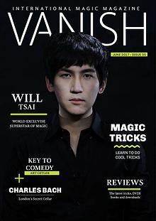 VANISH MAGIC BACK ISSUES