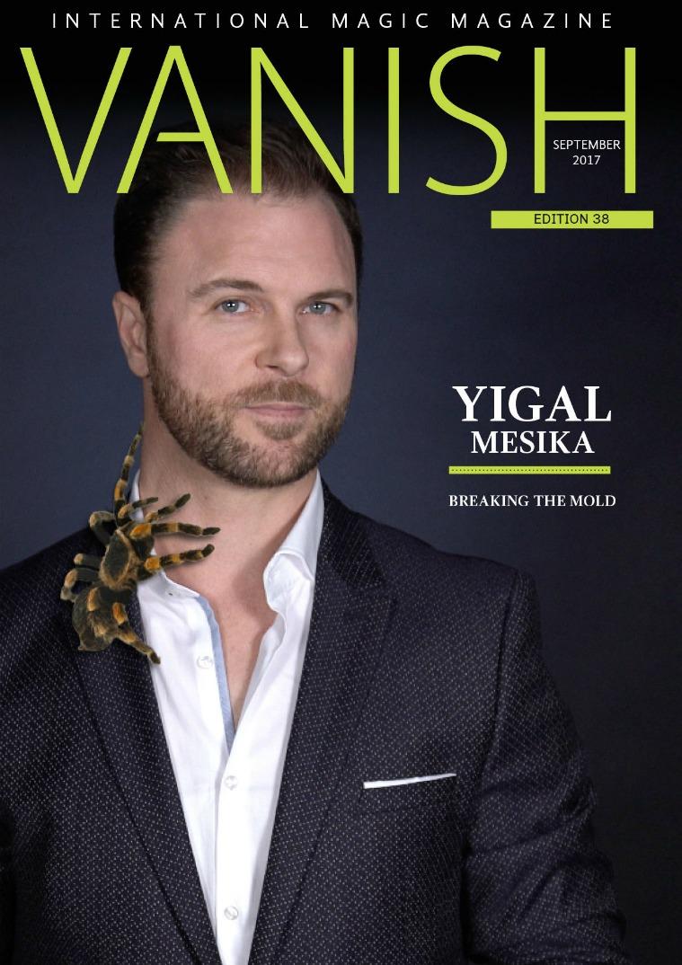 VANISH MAGIC BACK ISSUES Vanish magazine 38