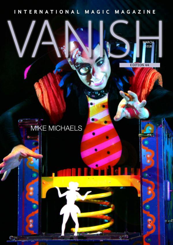 VANISH MAGIC BACK ISSUES Vanish MAGIC Magazine 44