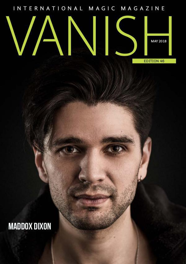 VANISH MAGIC BACK ISSUES VANISH MAGIC MAGAZINE 46