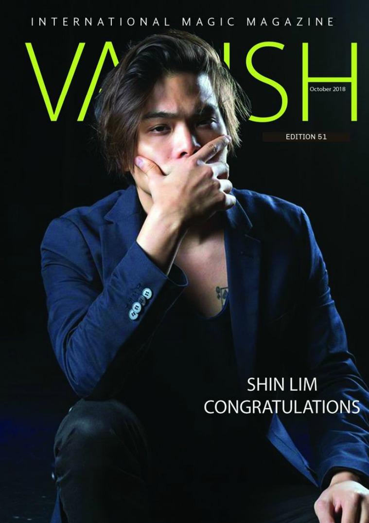 Vanish Magic Magazine 51