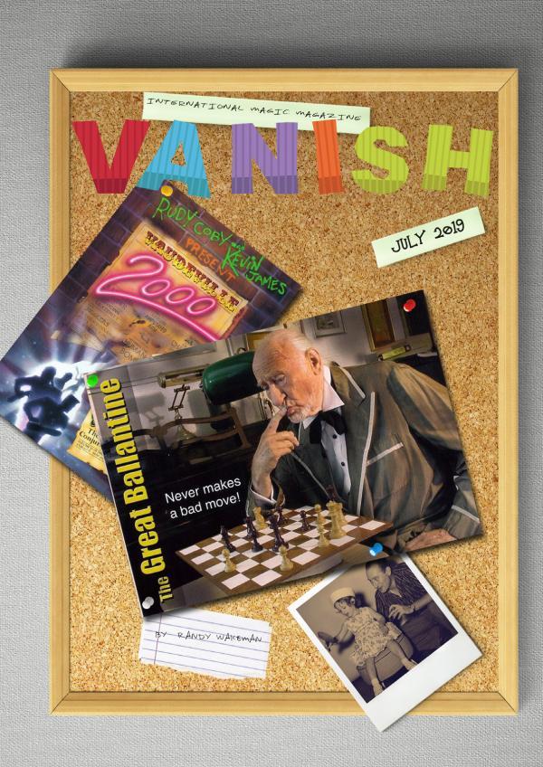 VANISH MAGIC MAGAZINE 60