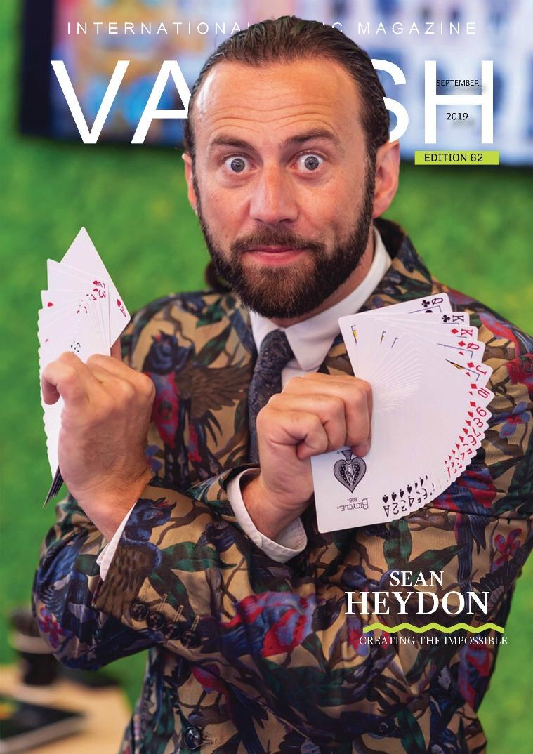 VANISH MAGIC BACK ISSUES Vanishmagazine62
