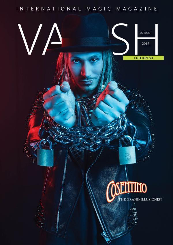 VANISH MAGIC BACK ISSUES Vanish63