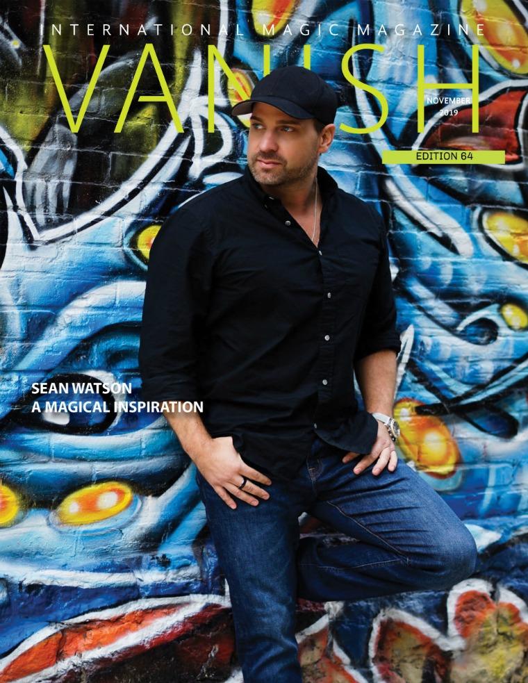 VANISH MAGIC BACK ISSUES vanishmagazine64