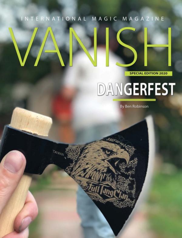 Vanish Magic Magazine Dangerfest SPECIAL EDITION