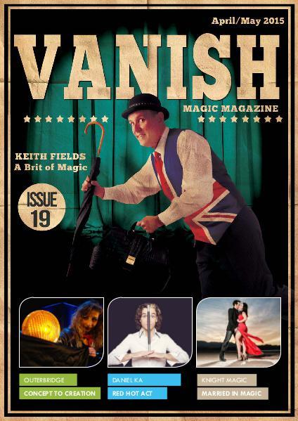 VANISH MAGIC BACK ISSUES Keith Fields