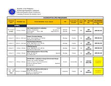 PRBOA Accredited CPD Programs