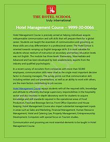 Hotel Management Course in Delhi