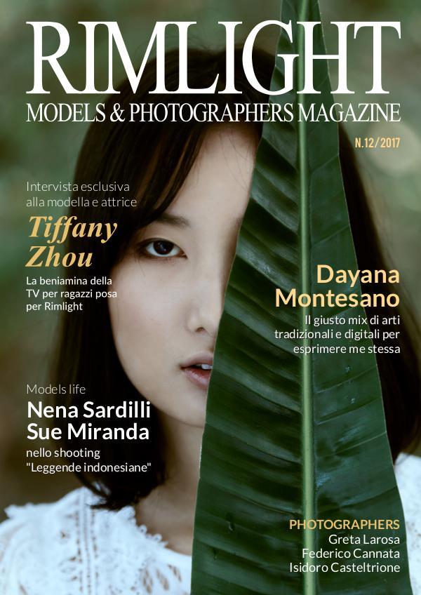 RIMLIGHT Models & Photographers Magazine N.12/2017