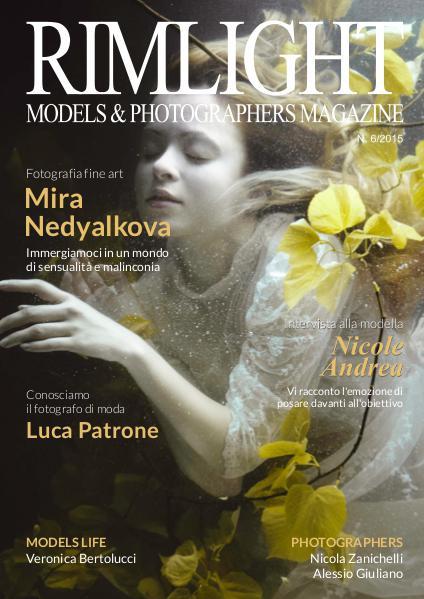 RIMLIGHT Models & Photographers Magazine RIMLIGHT Models & Photographers Magazine - N. 6/20