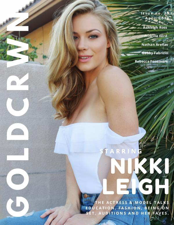 Gold Crwn Magazine ISSUE 25 // NIKKI LEIGH