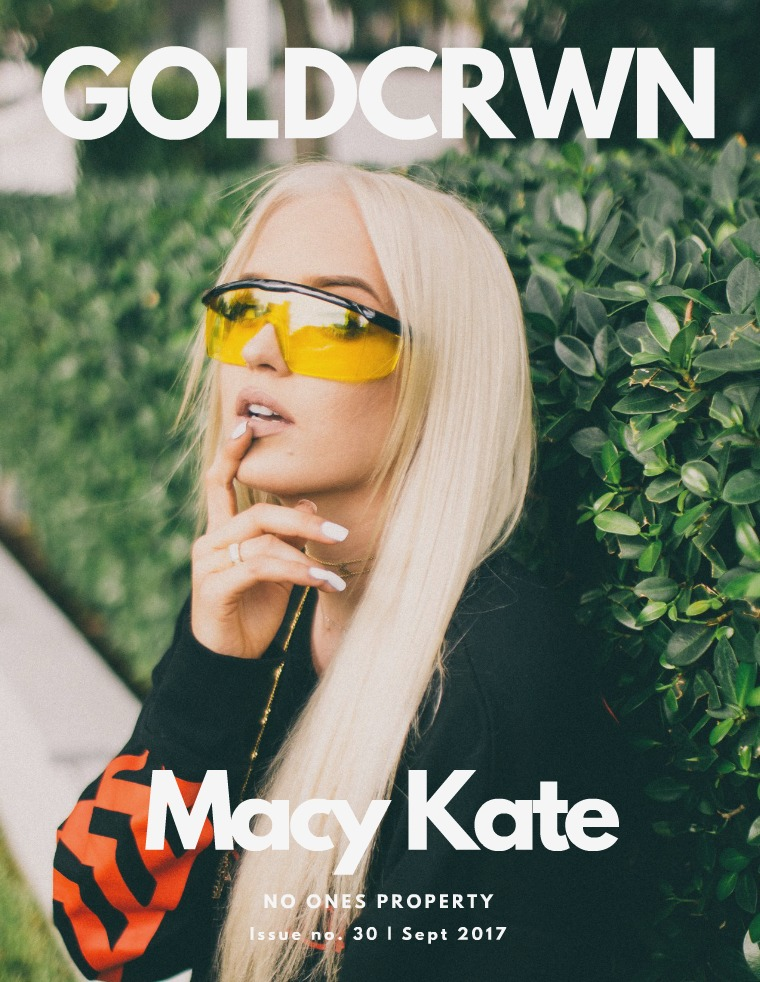 ISSUE 30 / MACY KATE
