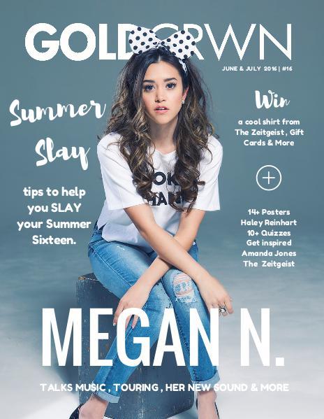 Gold Crwn Magazine June x July 2016