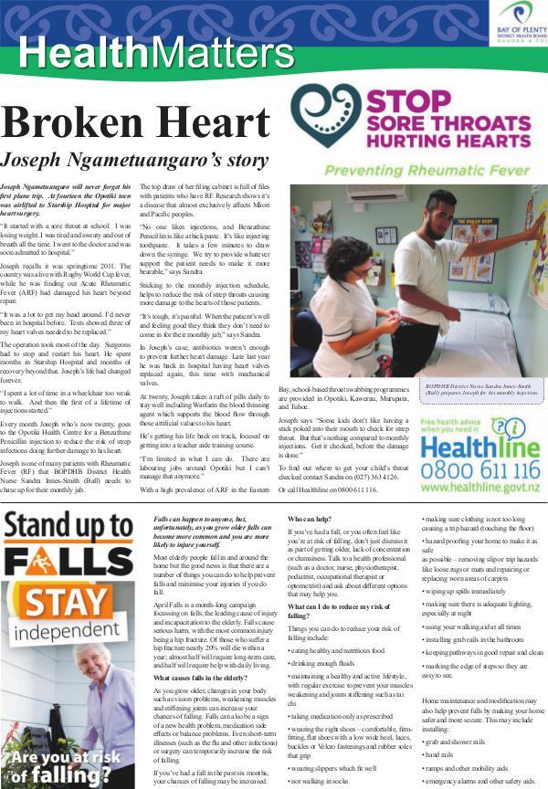 Health Matters EBOP April 2017