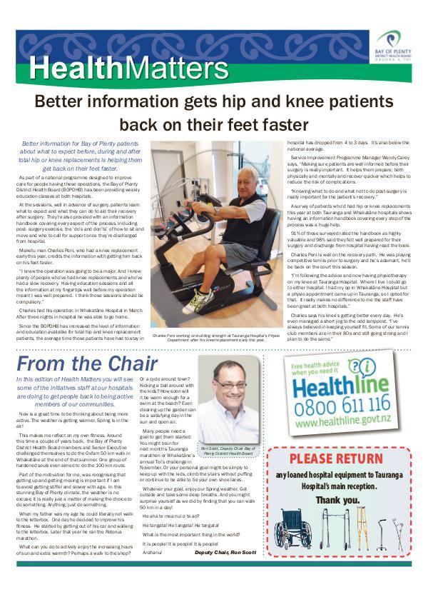 Health Matters WBOP September 2017