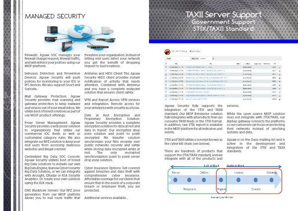 Jigsaw Security Products and Services 1 - Page 8