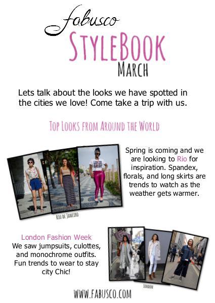 Fabusco Stylebook March