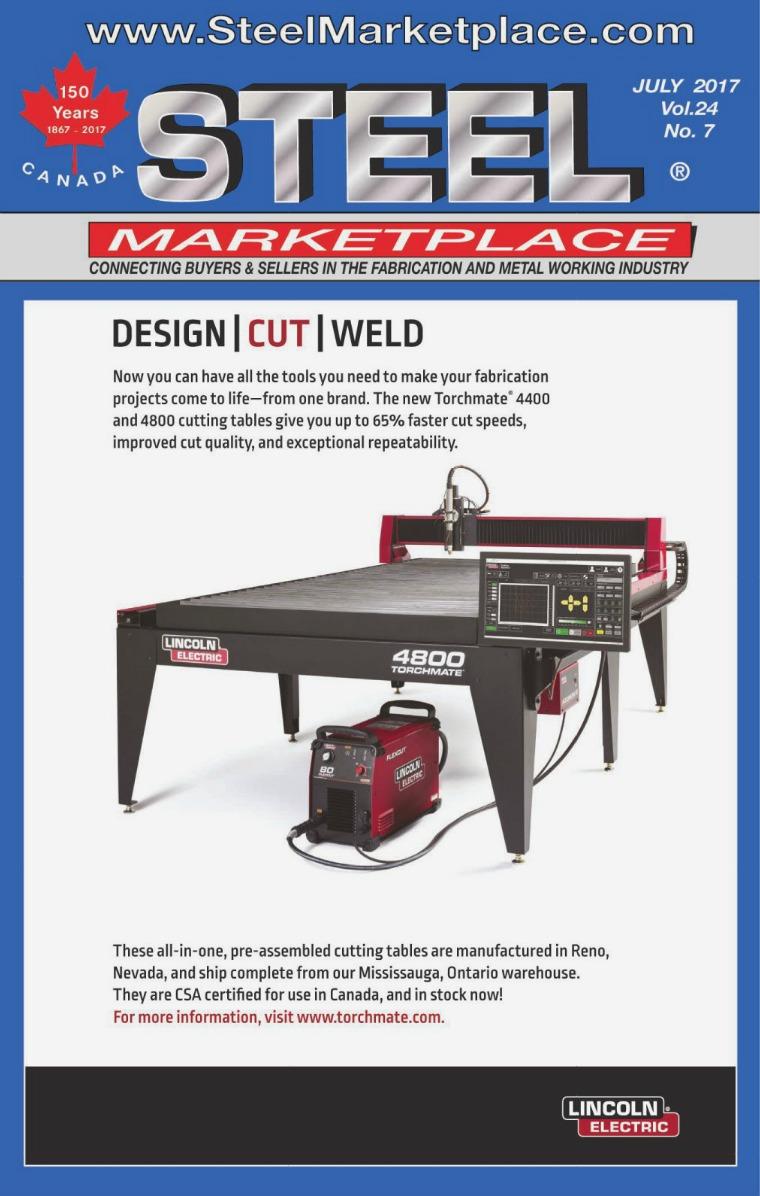 Steel Marketplace STEEL MARKETPLACE JULY 2017