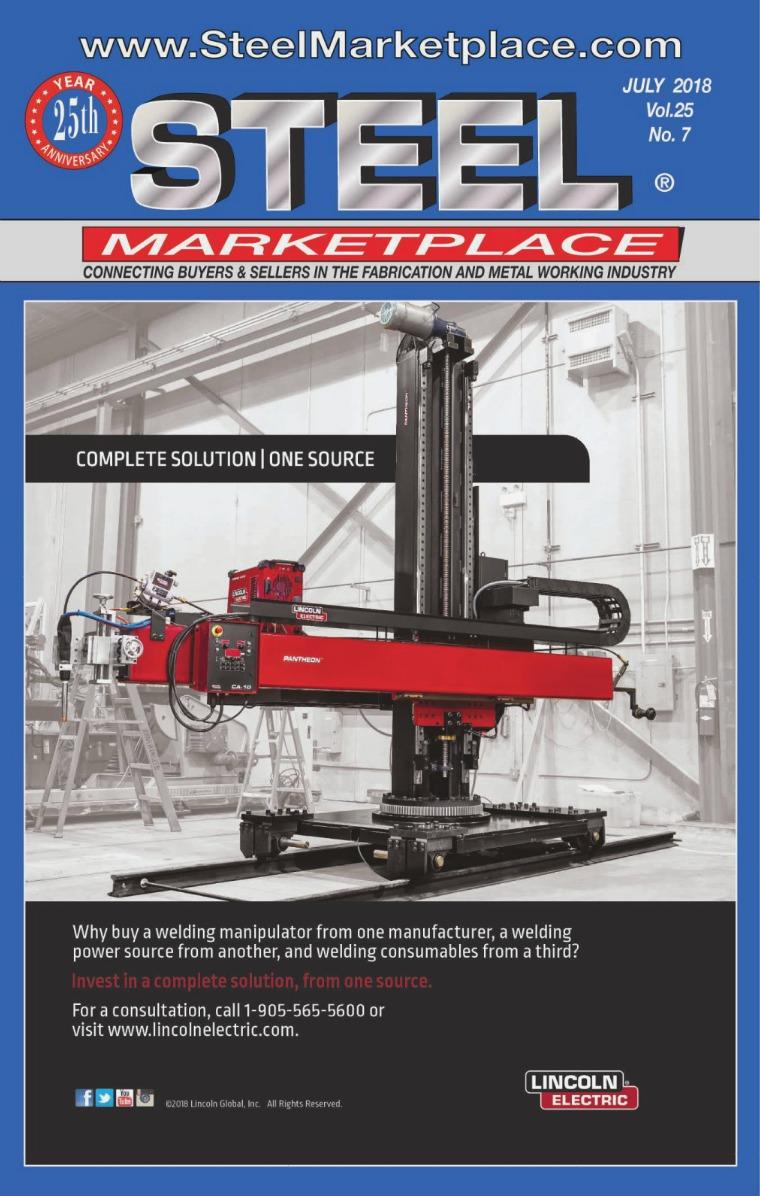 Steel Marketplace STEEL MARKETPLACE JULY 2018