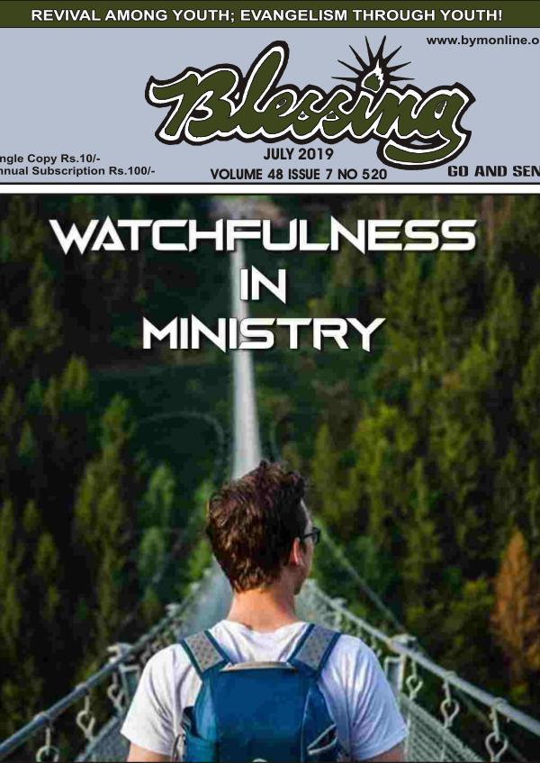 BYM ONLINE DESK Blessing Emagazine English July 2019