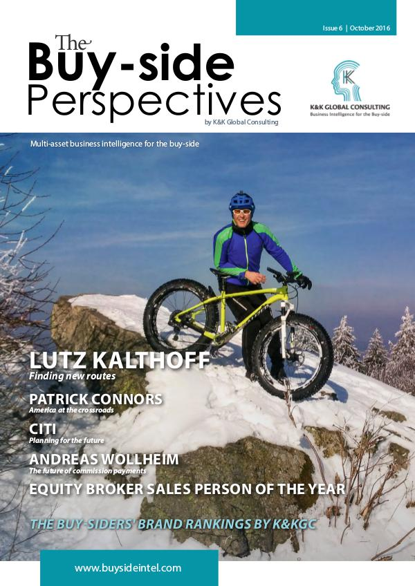 Buy-side Perspectives Issue 6