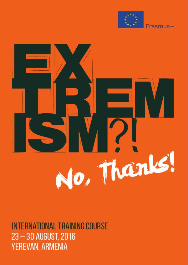 "Info-pack ""Extremism? No, thanks"""