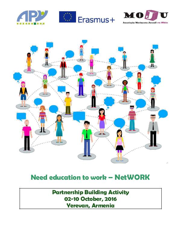 "Armenian Progressive Youth NGO Info-Pack ""NetWORK"""