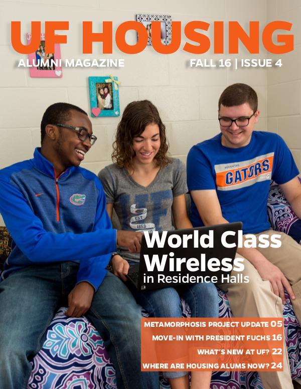 UF Housing Alumni Magazine Fall 2016