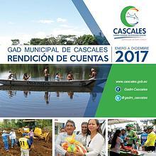 RENDICIÓN DE CUENTAS - MUNICIPIO DE CASCALES 2017